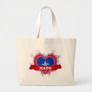 Vintage I Love Nato Bags