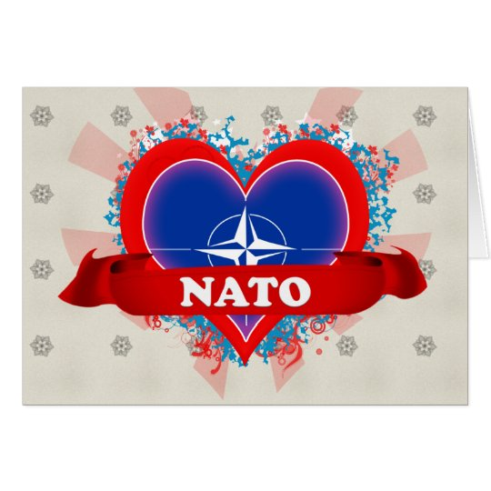 Vintage I Love Nato Card