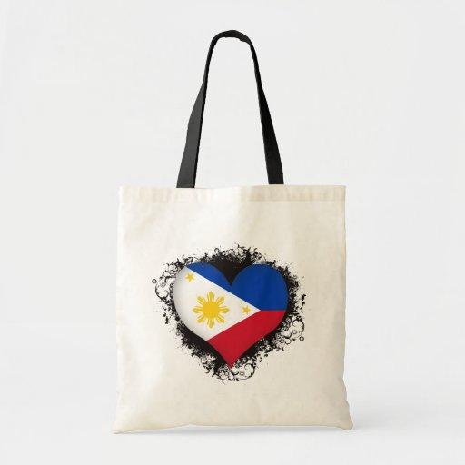 Vintage I Love Philippines Bag