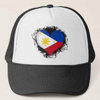 Vintage I Love Philippines Trucker Hat