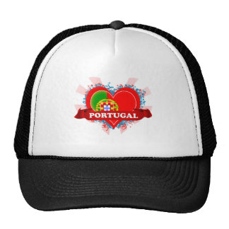 Vintage I Love Portugal Cap