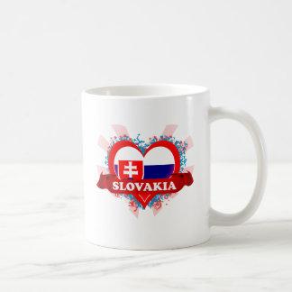 Vintage I Love Slovakia Coffee Mug