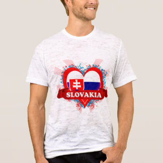 Vintage I Love Slovakia T-Shirt