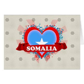 Vintage I Love Somalia Card