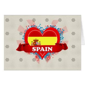 Vintage I Love Spain Cards