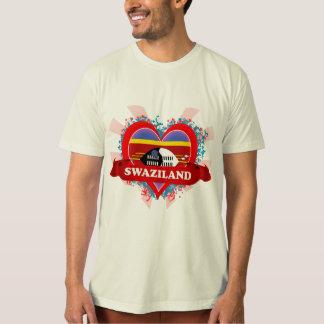 Vintage I Love Swaziland T-Shirt