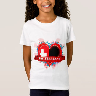 Vintage I Love Switzerland T-Shirt