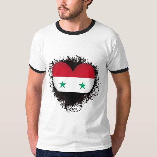 Vintage I Love Syria T-Shirt