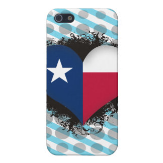 Vintage I Love Texas iPhone 5 Cover
