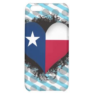 Vintage I Love Texas iPhone 5C Case