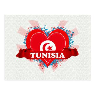 Vintage I Love Tunisia Post Cards
