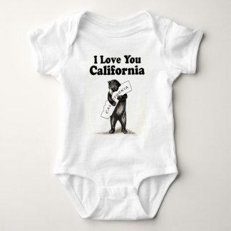 Vintage I Love You California Baby Bodysuit