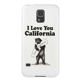 Vintage I Love You California Cases For Galaxy S5