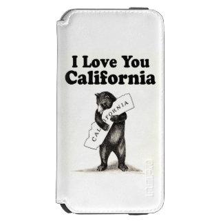 Vintage I Love You California Incipio Watson™ iPhone 6 Wallet Case