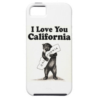 Vintage I Love You California iPhone 5 Case