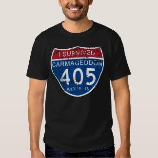 VINTAGE I Survived Carmageddon T Shirt
