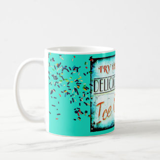 Vintage ice cream sign mug
