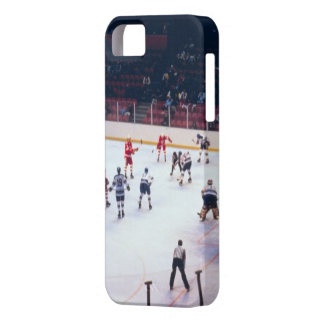 Vintage Ice Hockey Match iPhone 5 Cases