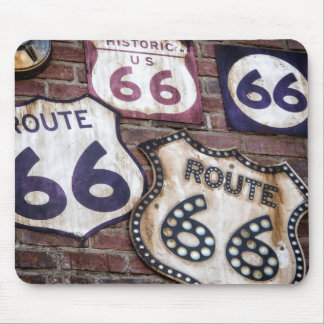 Vintage Iconic Route 66 Mouse Pad