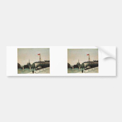 Vintage Ile Saint Louis France Bumper Stickers