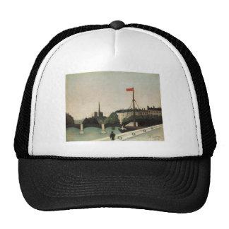 Vintage Ile Saint Louis France Trucker Hats