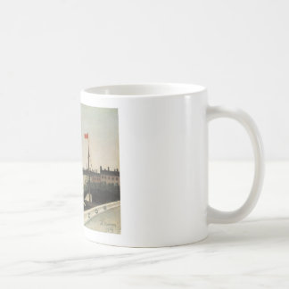 Vintage Ile Saint Louis France Classic White Coffee Mug