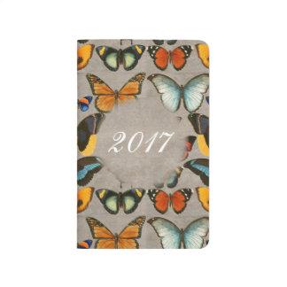 Vintage Illustration Butterflies Custom Notebook