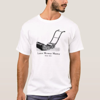 VINTAGE ILLUSTRATION Lawn Mower Master Tee