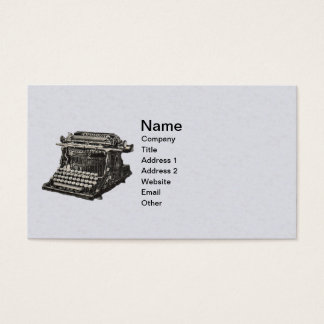 Vintage Illustration Old Fashioned Typewriter