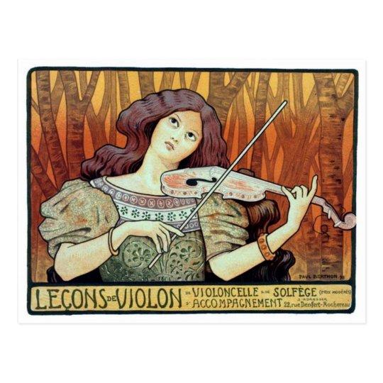 Vintage Illustration Postcard