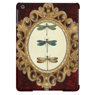 Vintage Illustration, Three Dragonflies iPad Air Covers