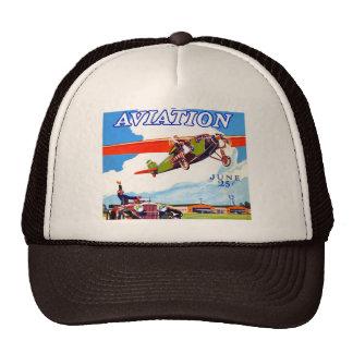VINTAGE ILLUSTRATION Trucker Hat