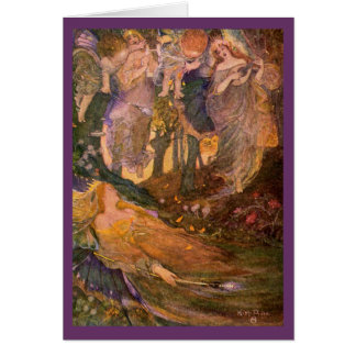Vintage Image - A Midsummer Night s Dream Greeting Cards