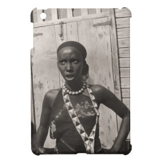 Vintage image, African girl Case For The iPad Mini