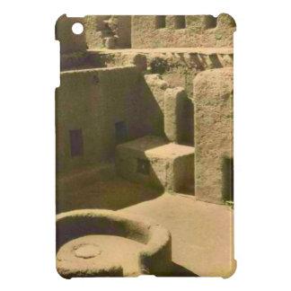 Vintage image, African mud brick house, Algeria Case For The iPad Mini
