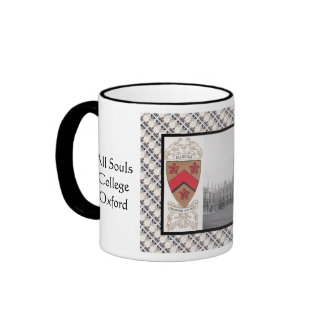 Vintage image All Souls Oxford Coffee Mugs