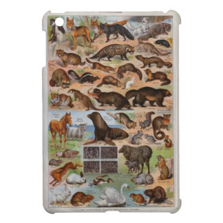 Vintage image, Animals with hair or fur iPad Mini Cases