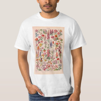 Vintage image, flowers flora floral T-Shirt