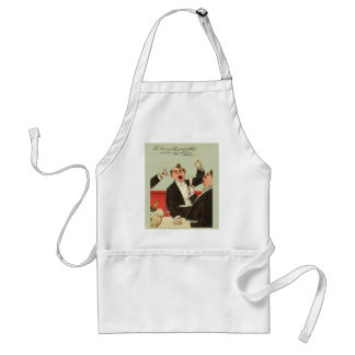 Vintage image, For he's a jolly good fellow Standard Apron