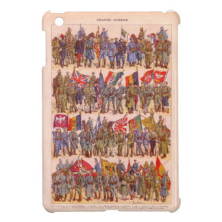 Vintage image, Infantry soldiers through history iPad Mini Case