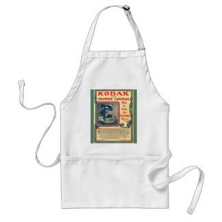 Vintage image,Kodak Brownie advertisement Standard Apron