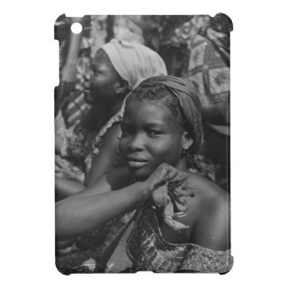 Vintage image, Lady from Togo iPad Mini Cover