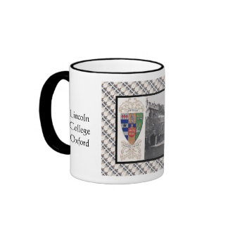 Vintage image Lincoln College Oxford Mugs