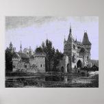 Vintage Image - Mediaeval Castle Poster