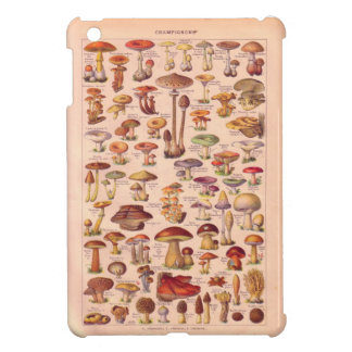 Vintage image, Mushrooms iPad Mini Cover