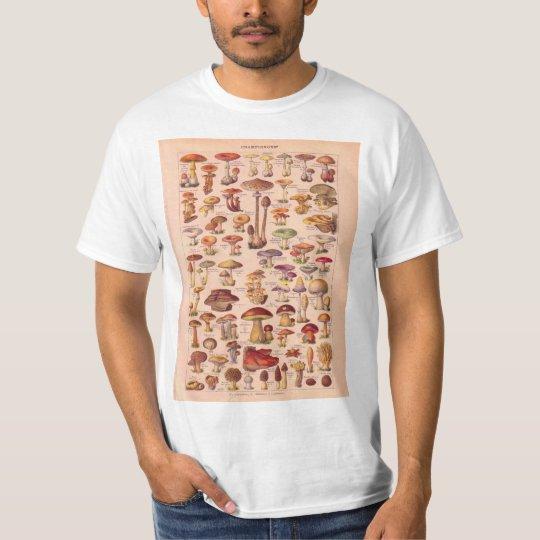 Vintage image, Mushrooms T-Shirt