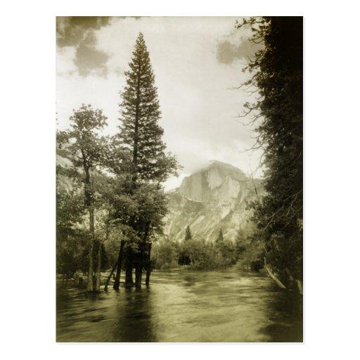 Vintage image of Yosemite National Park Post Cards