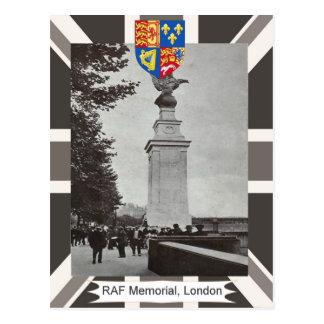 Vintage image, RAF Memorial, London Postcard