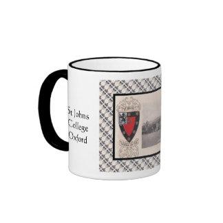 Vintage image, St Johns College, Oxford Coffee Mug
