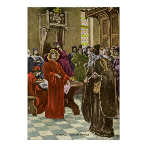 Vintage Image - The Merchant of Venice Posters